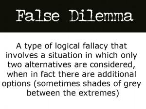 FalseDilemma